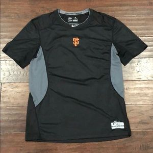 San Francisco Giants Nike Pro Combat Shirt